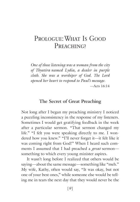Preaching - Penguin Random House Education