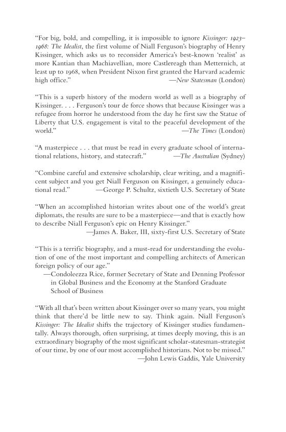 Kissinger - Penguin Random House Retail