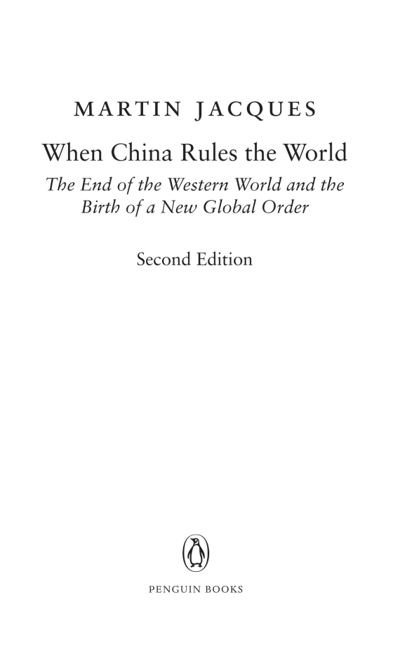 when china rules the world the end of the western world and the birth of a new global order