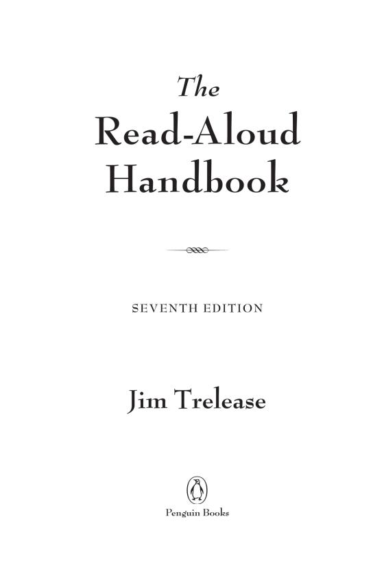 The read aloud handbook penguin random house education fandeluxe Image collections