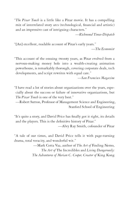 The Pixar Touch - Penguin Random House Common Reads