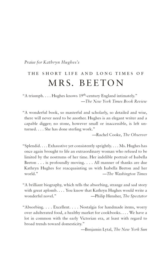 The Short Life and Long Times of Mrs  Beeton - Penguin