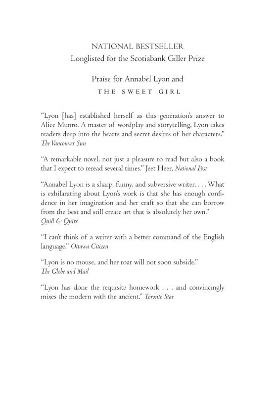 The Sweet Girl | Penguin Random House International Sales