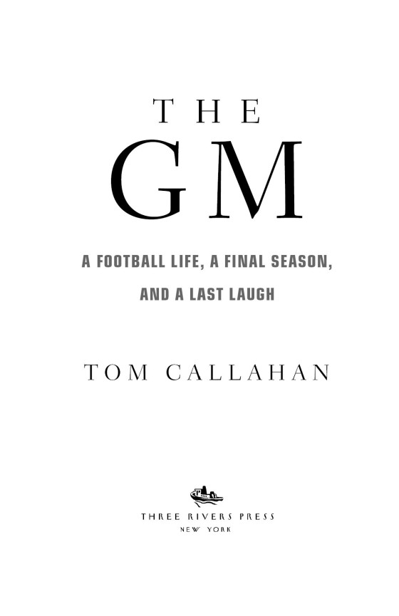 and a Last Laugh a Final Season A Football life The GM