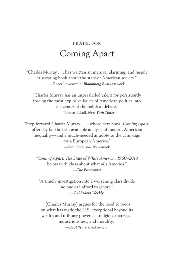 Coming Apart - Penguin Random House Education