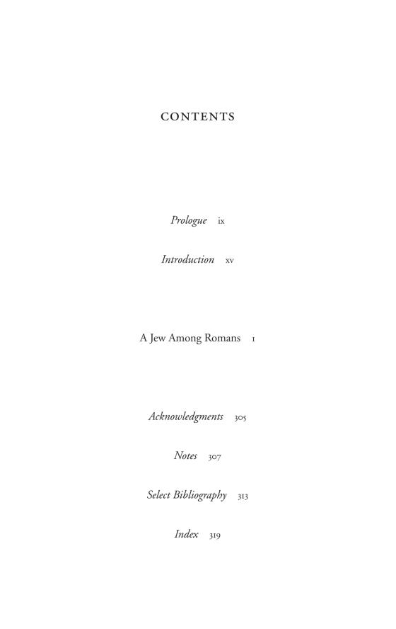 A Jew Among Romans - Penguin Random House Education