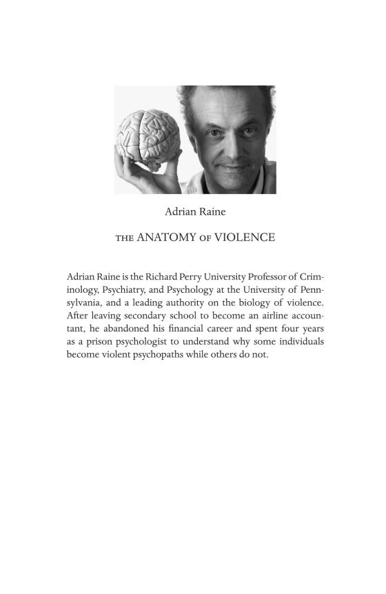 The Anatomy of Violence - Penguin Random House Education