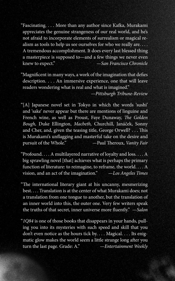 1Q84   Penguin Random House International Sales