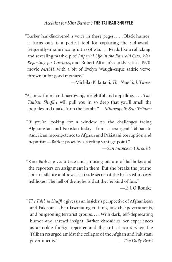 The Taliban Shuffle - Penguin Random House Education