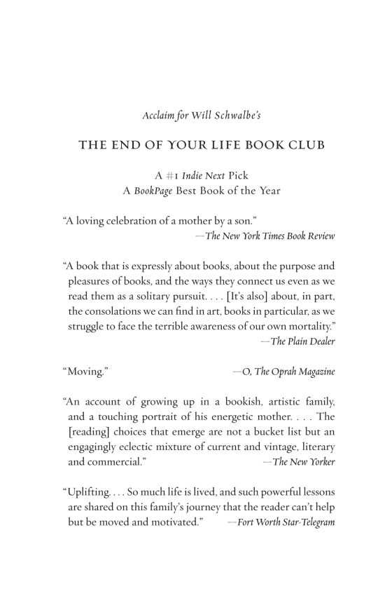The End Of Your Life Book Club Penguin Random House Education