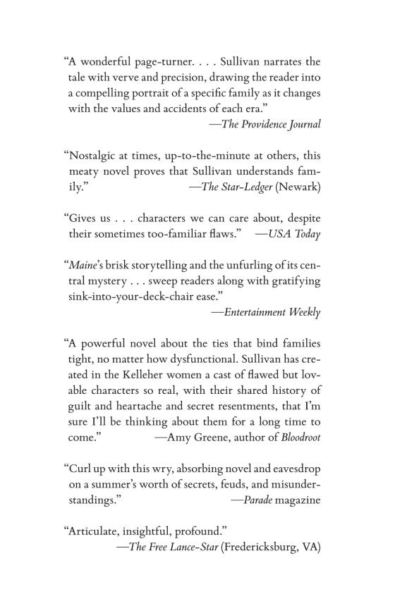 Maine   Penguin Random House International Sales