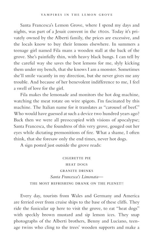 Vampires in the Lemon Grove | Penguin Random House International Sales