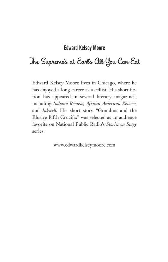The Supremes at Earl's All-You-Can-Eat - Penguin Random