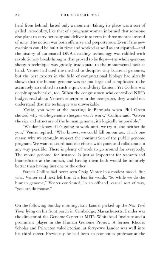 The Genome War Penguin Random House Education