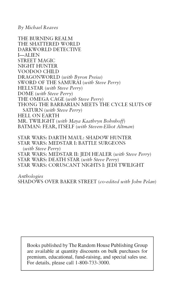 Jedi Twilight: Star Wars Legends (Coruscant Nights, Book I