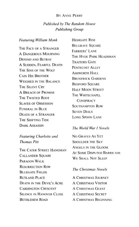 The William Monk Mysteries Penguin Random House Education