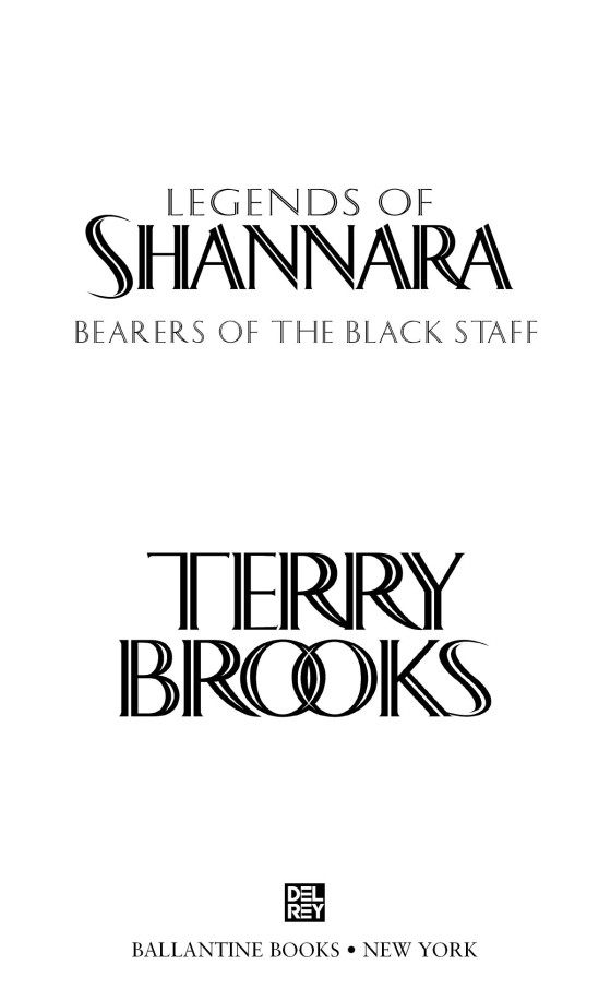 bearers of the black staff legends of shannara