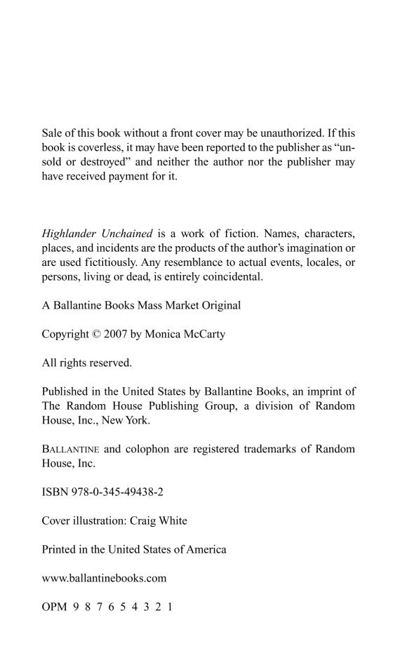 Highlander Unchained Penguin Random House Retail