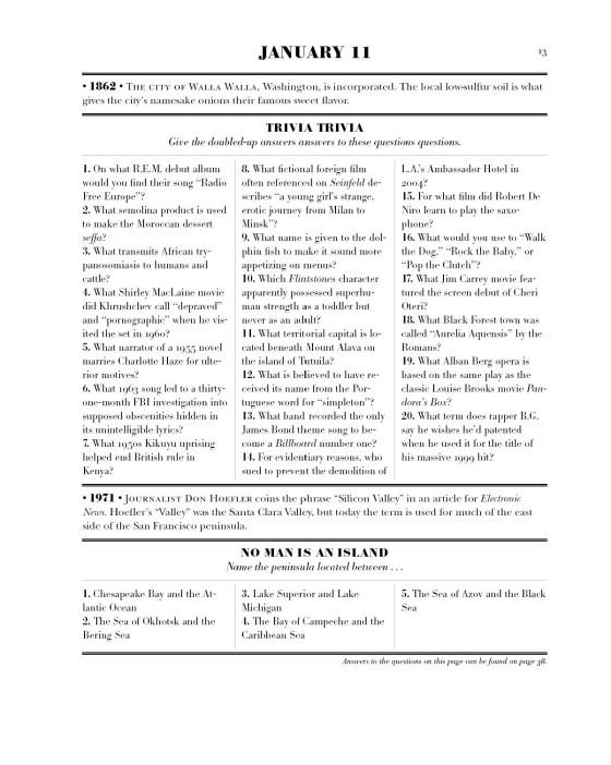 Ken Jennings's Trivia Almanac - Penguin Random House Retail