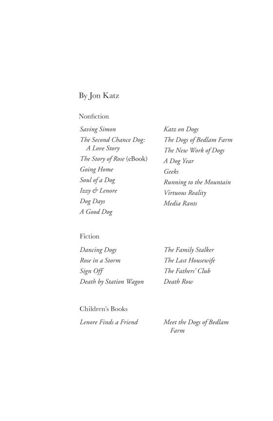 the new work of dogs katz jon
