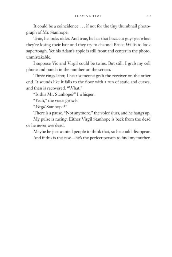 Leaving Time (with bonus novella Larger Than Life) | Penguin