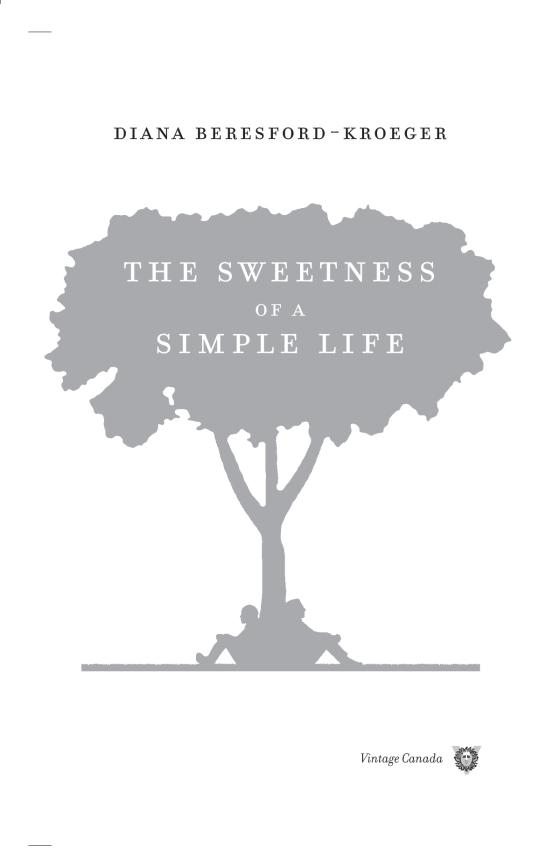 The Sweetness of a Simple Life - Penguin Random House Education
