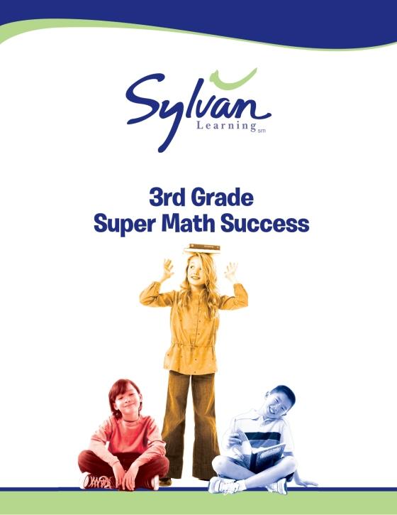 3rd Grade Jumbo Math Success Workbook Sylvan Learning Random