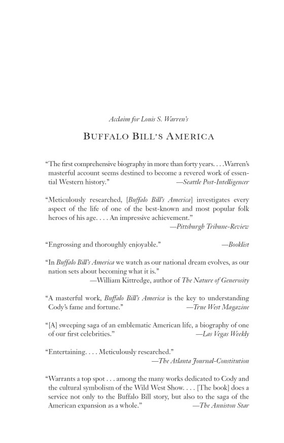 Buffalo Bill's America - Penguin Random House Education