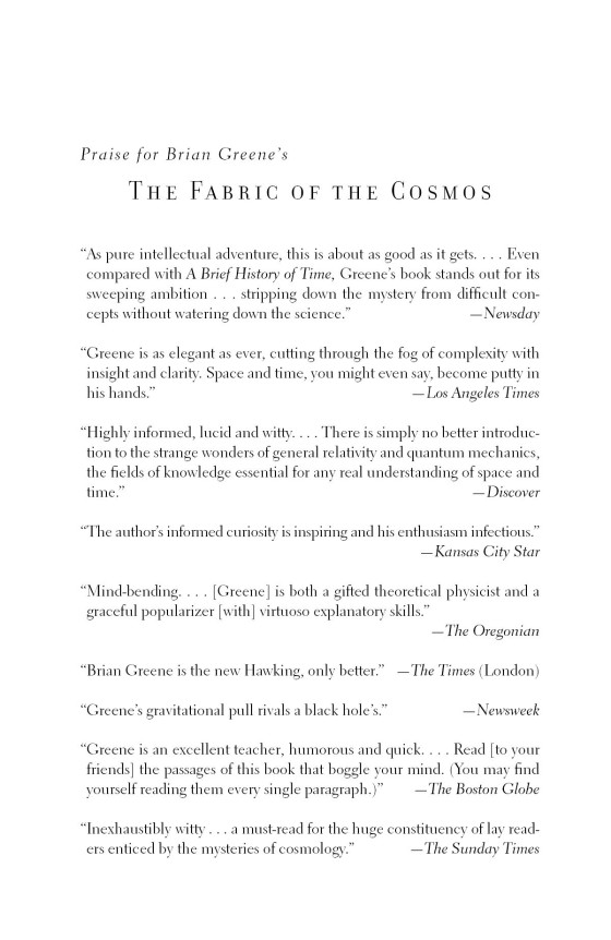 The Fabric of the Cosmos - Penguin Random House Education
