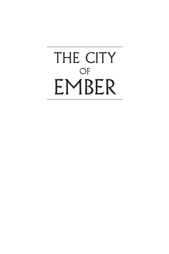 The city of ember penguin random house retail legal ccuart Images