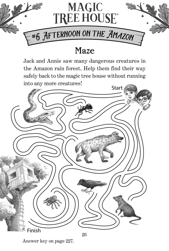 Magic Tree House Jack And Annie Coloring Pages