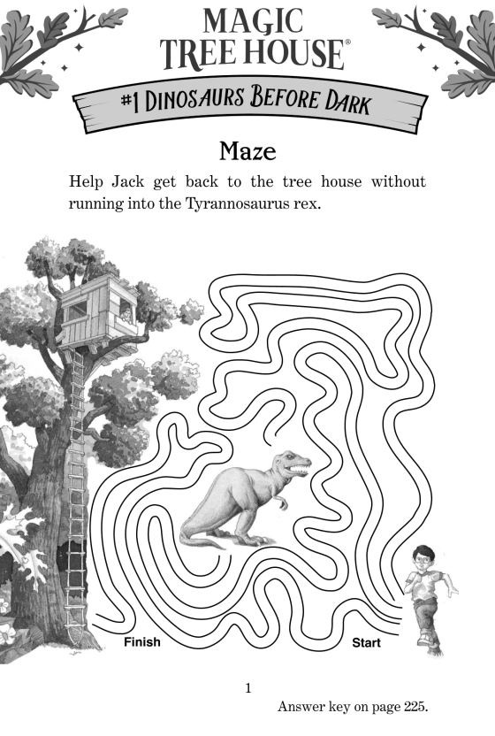 Games And Puzzles From The Tree House Magic Tree House R Magic Tree House Penguin Random House
