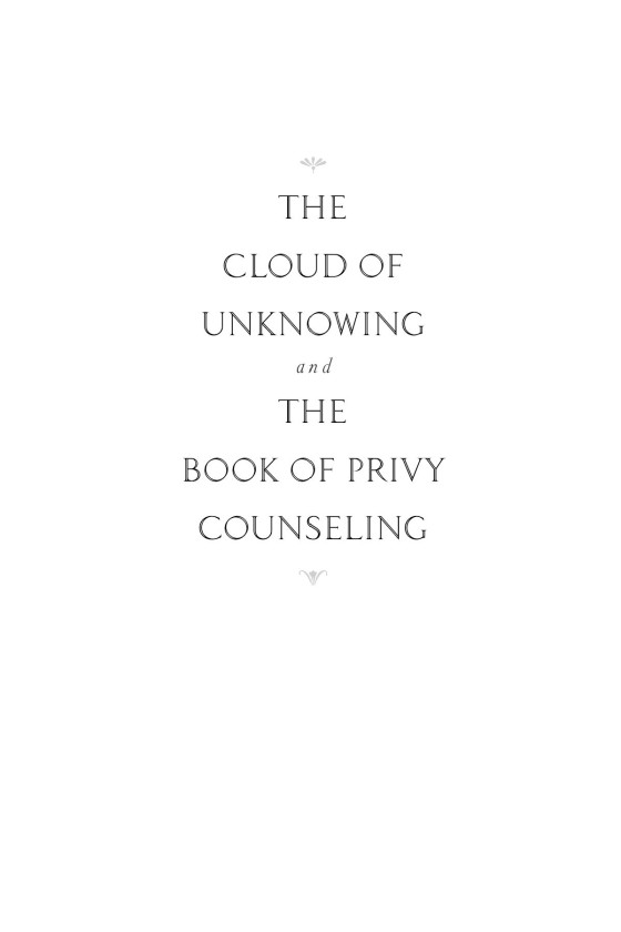 The cloud of unknowing penguin random house education fandeluxe Gallery