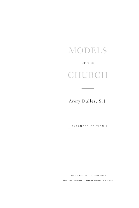 Models of the church penguin random house education fandeluxe Gallery