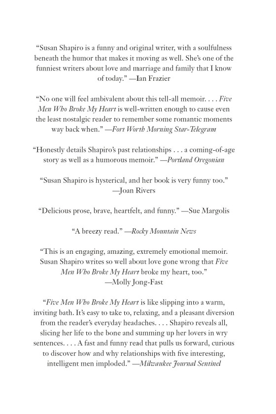 Five Men Who Broke My Heart - Penguin Random House Education