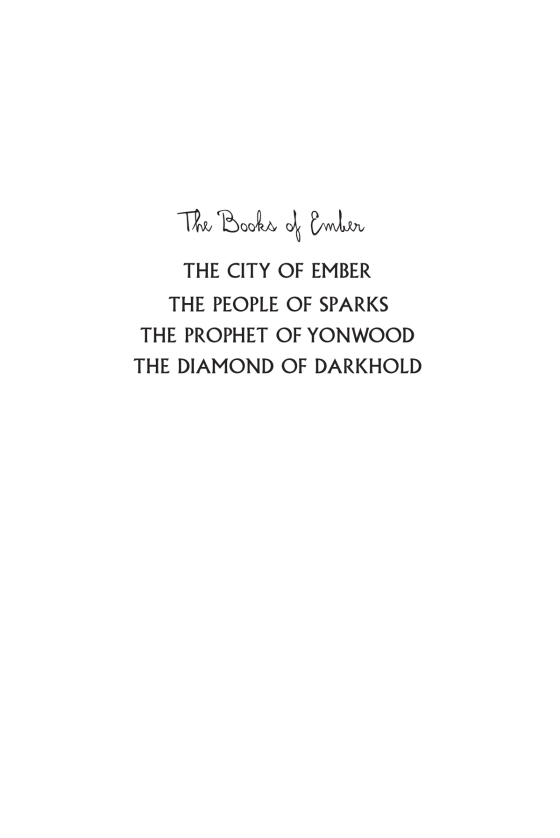 The city of ember deluxe edition penguin random house retail legal ccuart Images