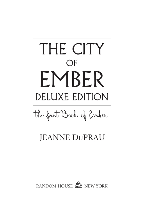 The city of ember deluxe edition penguin random house retail ccuart Images