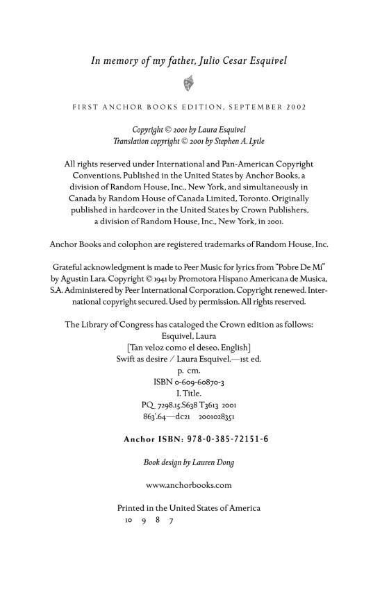 Swift as Desire - Penguin Random House Education