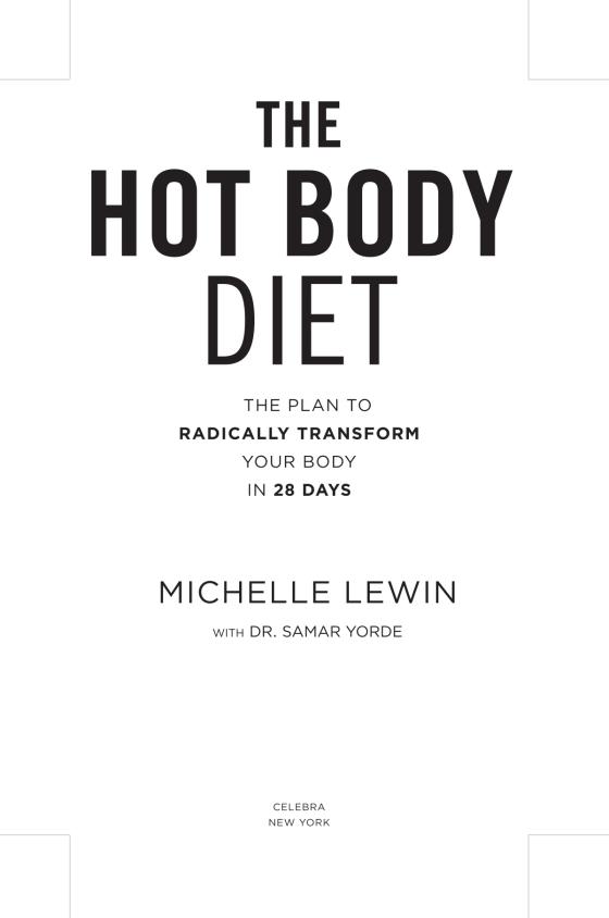 4e7eb17111cfe9 The Hot Body Diet - Penguin Random House Retail