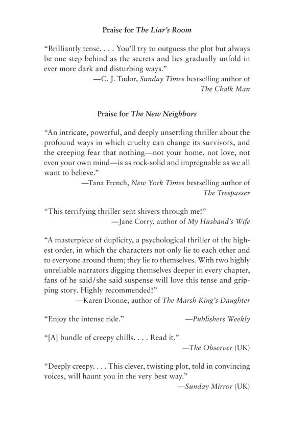 The Liar's Room - Penguin Random House Retail