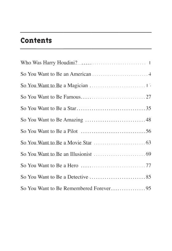 Who Was Harry Houdini?   Penguin Random House International Sales