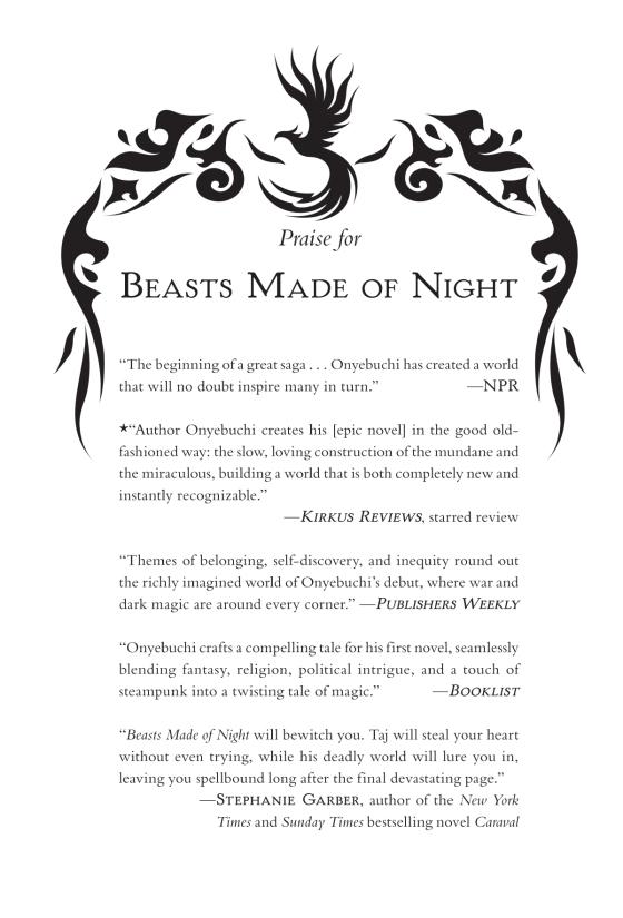 Beasts Made of Night | Penguin Random House International Sales