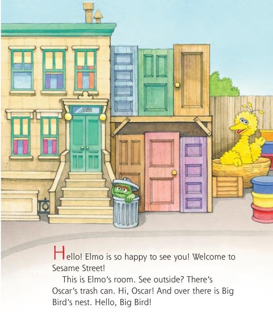 My Name Is Elmo (Sesame Street) - Penguin Random House