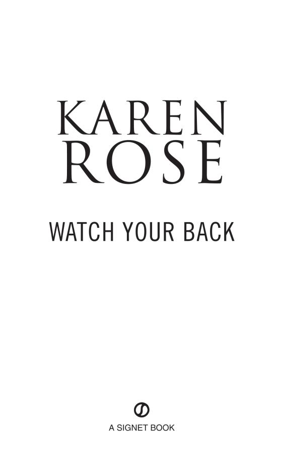 Watch Your Back Penguin Random House Retail