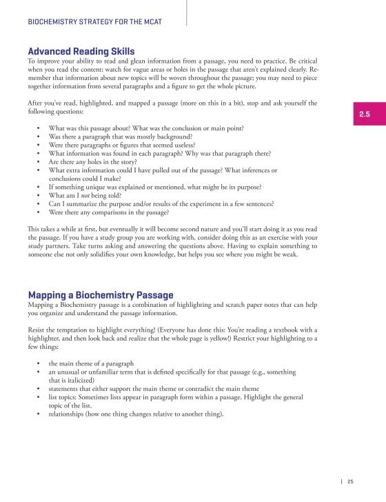 MCAT Biochemistry Review - The Princeton Review   Random