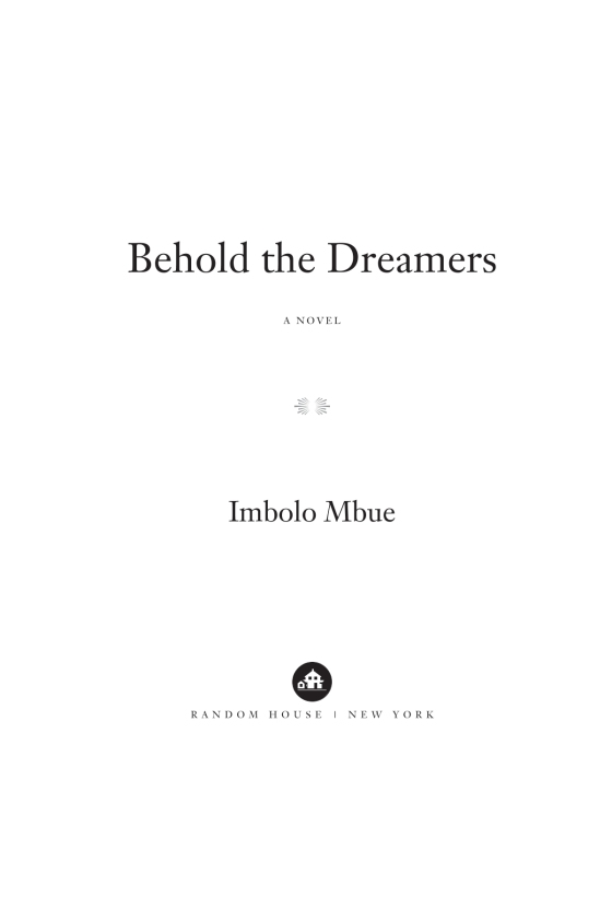 Behold the Dreamers (Oprah's Book Club) - Penguin Random