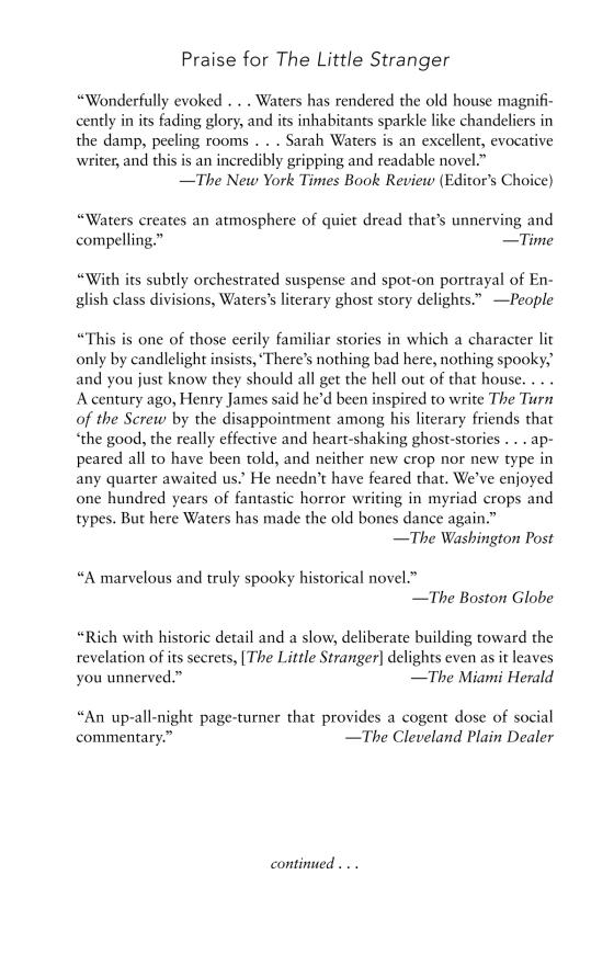 The Little Stranger (Movie Tie-In) | Penguin Random House