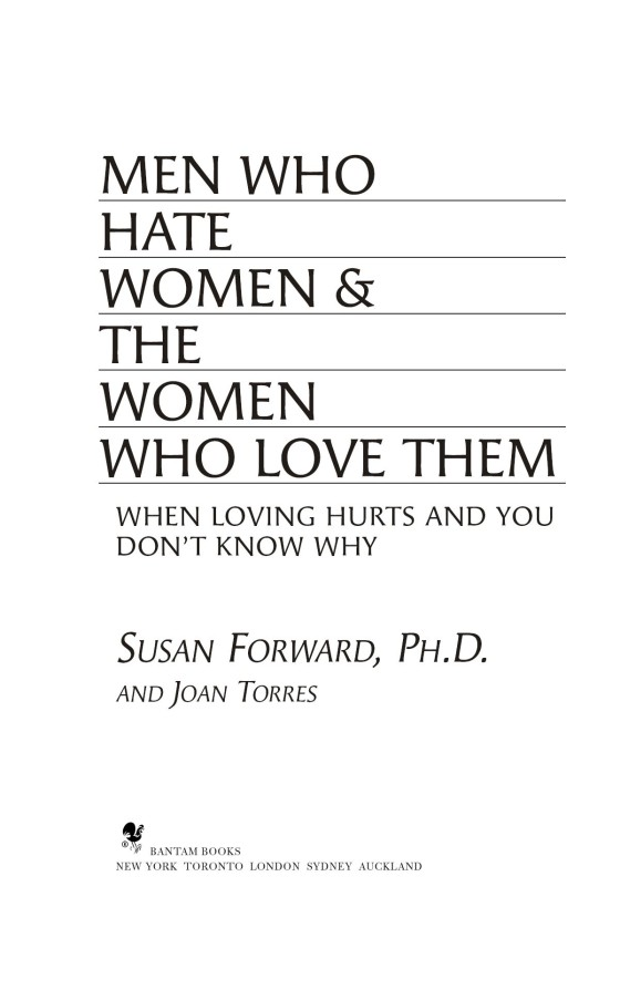 Men Who Hate Women and the Women Who Love Them - Penguin
