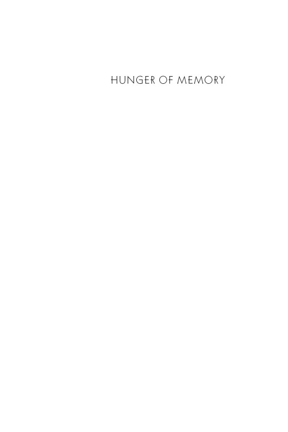 the hunger of memory