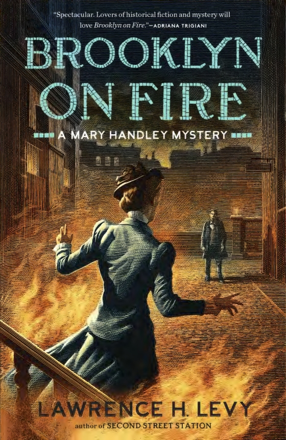 Lawrence h levy brooklyn on fire trade paperback fandeluxe Choice Image